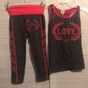 True Rock workout outfit